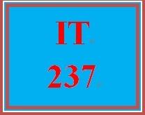 IT 237 Week 8 Website Publishing Process