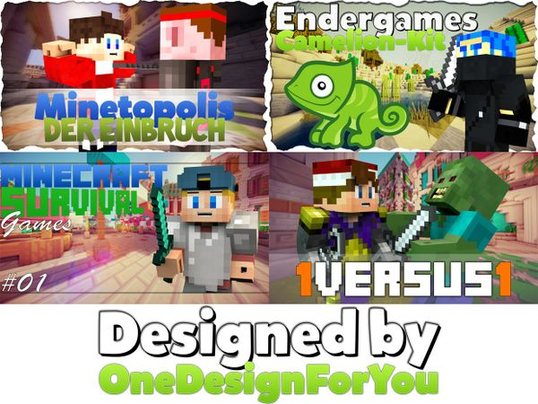 20 individuelle Thumbnails