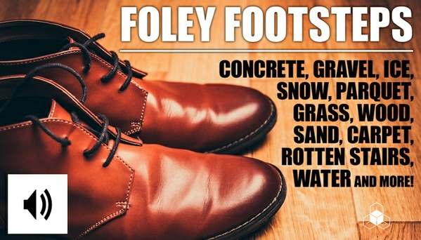 FOLEY FOOTSTEPS - Royalty-Free Sound Effects