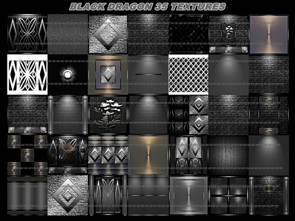 black dragon 35 textures