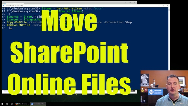 Companion PowerShell for Managing SharePoint Online Document Libraries with PowerShell