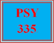 PSY 335 Week 2 Descriptive Research Methods Worksheet