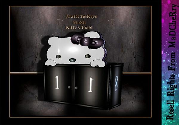 Kitty Closet Mesh Catty Only!!!