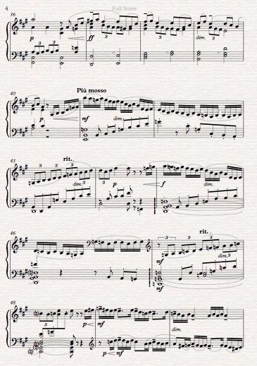 Rachmaninov Adagio Symphony No 2