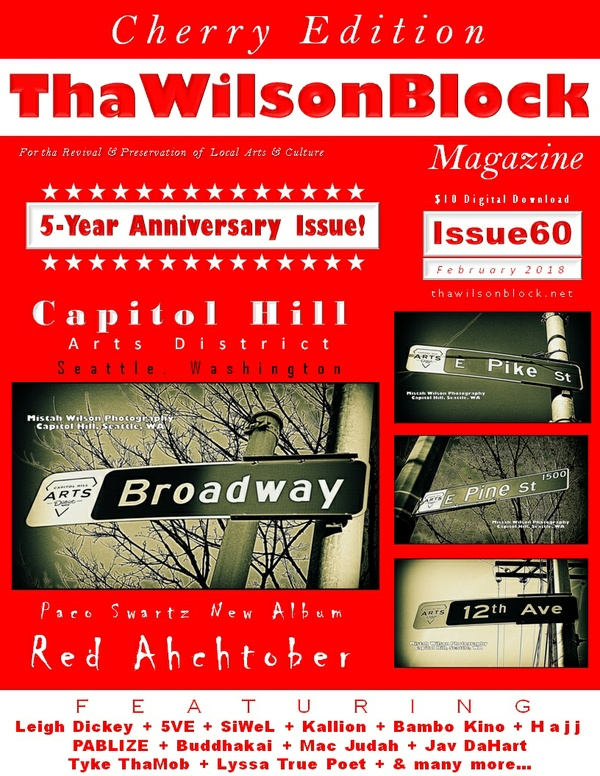 ThaWilsonBlock Magazine Issue60 (Cherry Edition / February 2018)