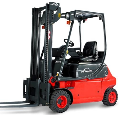 Linde Electric Forklift Truck E-Series Type 335-02: E14, E16, E18, E20 Workshop Service Manual