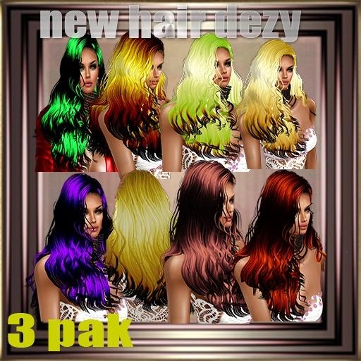 DIZA PAK 3 HAIR 1,20 USD