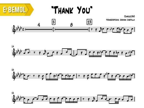 "Charlez360 - ""Thank You"" - Eb"