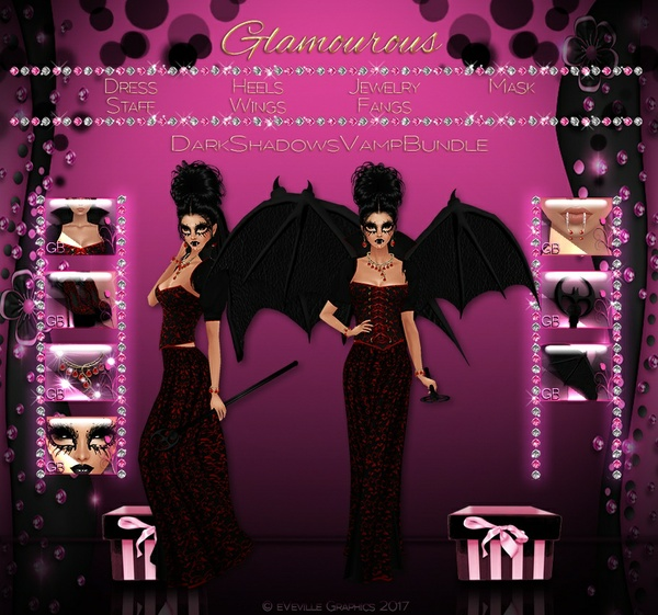 Dark Shadows Vampire Collection ~CATALOG ONLY~