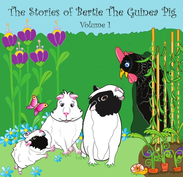 Audio books: The Stories of Bertie the Guinea Pig - Volume 1