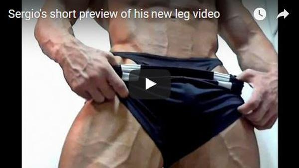 Insane leg posing