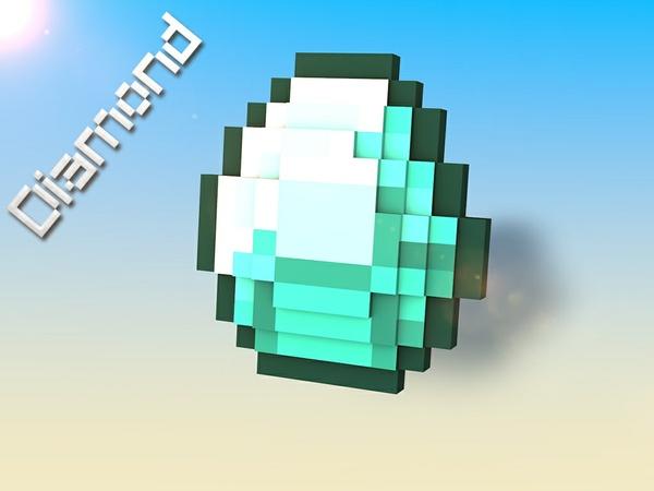 Minecraft Mineral Rig.