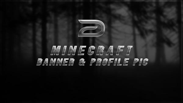 Minecraft Banner & Avatar (OPEN - DM ON TWITTER @Dispiire)