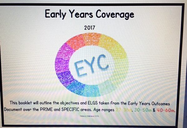 Early Years Coverage PDF