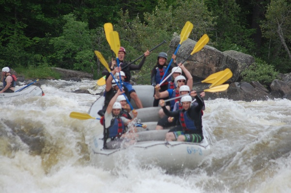Penobscot Rafting Video 07/03/2016