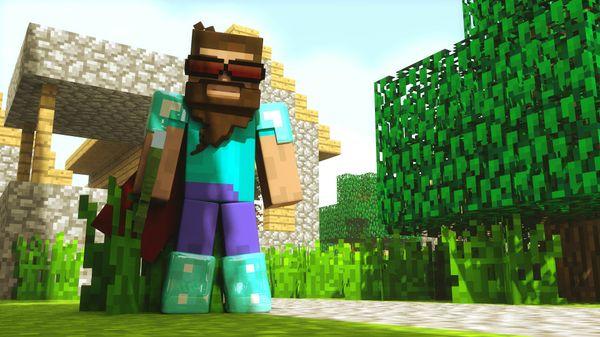 Cinema 4D - Minecraft Rig Template Version 7