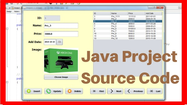 Java Project Source Code