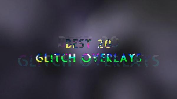 Glitch Overlay Pack