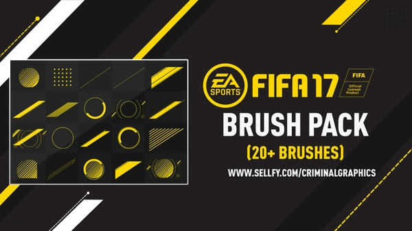 FIFA 17 BRUSH PACK