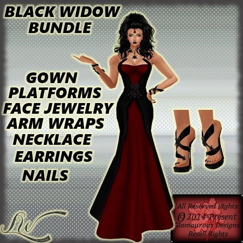 Black Widow BUNDLE NO RESELL RIGHTS!