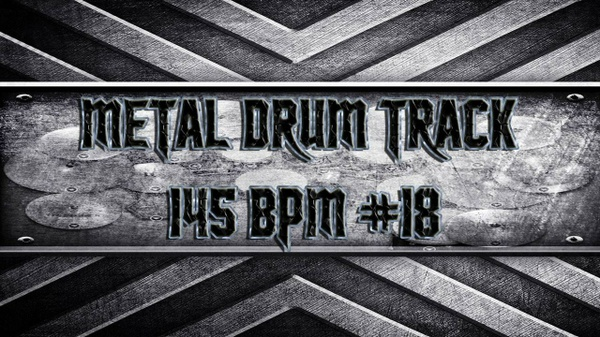 Metal Drum Track 145 BPM #18