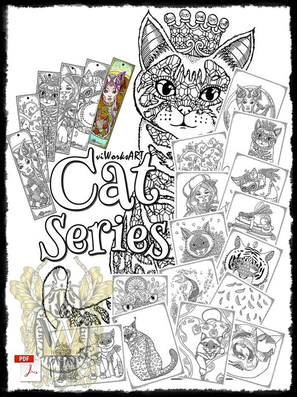 viWorksART Cat Series by Alfred E. Villanueva