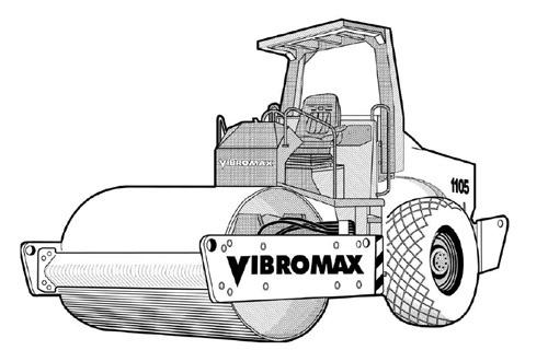 Vibromax 1105 1106 1405 1805 Single Drum Roller Service Repair Manual Download