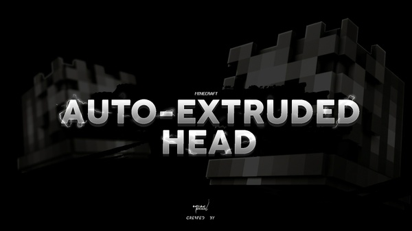 Auto-Extruded Head » Rig Model