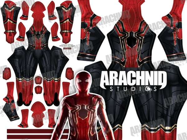 Iron Spider MCU Dye-sub pattern