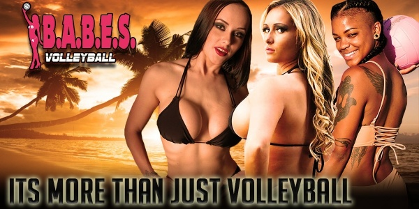 BABES Volleyball episode one -  hot womens bikini beach volleyball sports action