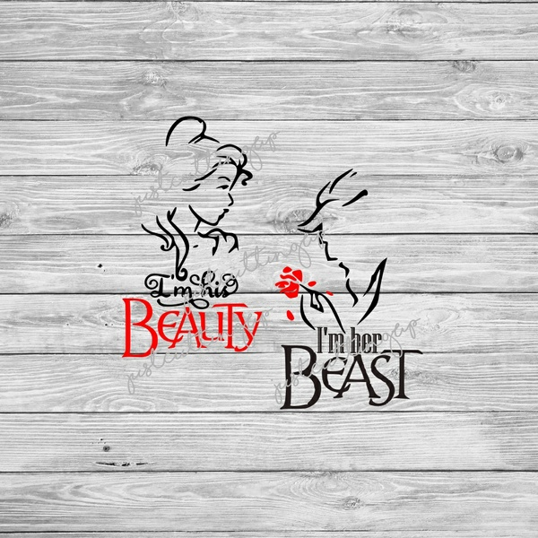 Beauty and The Beast SVG- SVG ONLY