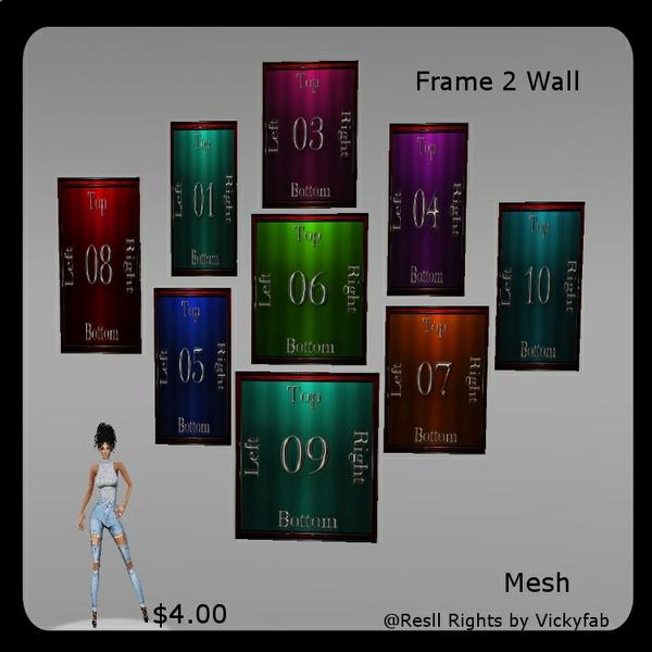 Frame Wall 2