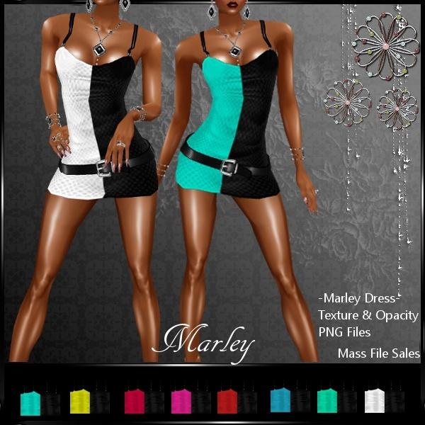 IMVU Clothing Textures Marley Dress
