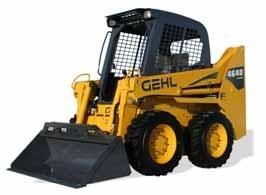Gehl 4640/5240E Power2 and Mustang 2056 Series II Skid-Steer Loaders Service Repair Manual Download