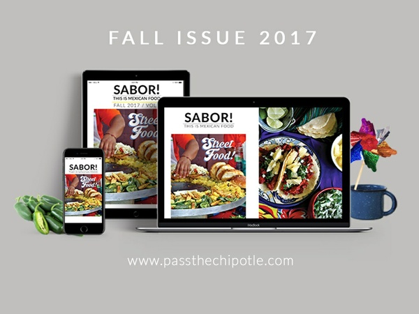 SABOR! This is Mexican Food. Fall Issue 2017