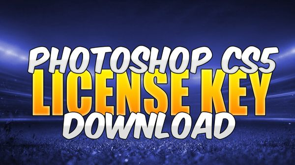Adobe Photoshop CS5 Extended (Liscence Key)