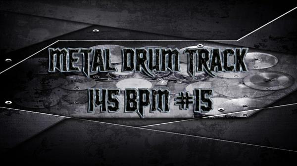 Metal Drum Track 145 BPM #15 - Preset 2.0