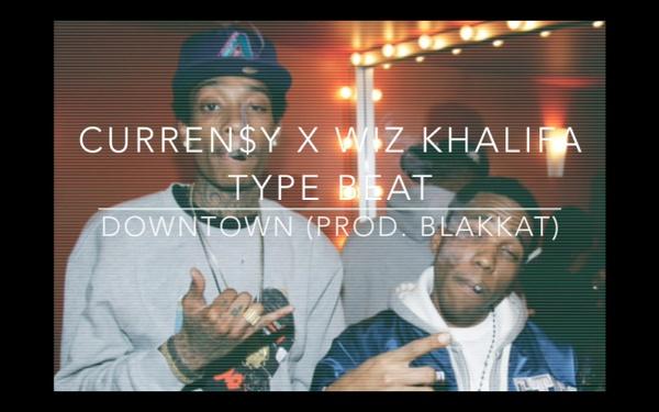 """Downtown"" Curren$y x Wiz Khalifa Type Beat (Prod. BlakKat)"