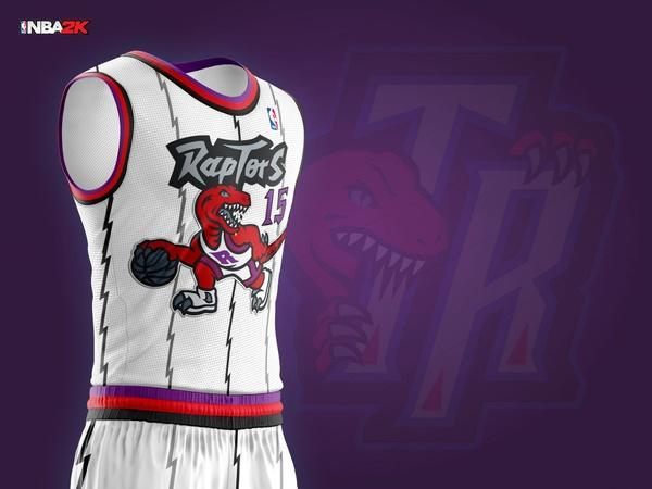 1997 Toronto Raptors Home Jersey