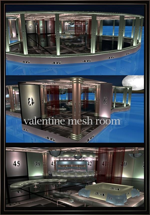 VALENTINE FURNISHED MESH ROOM