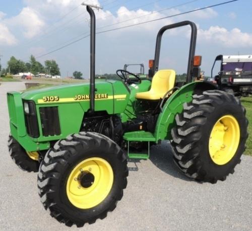 John Deere 5105 and 5205 USA Tractors Diagnostic and Technical Manual (tm1792)