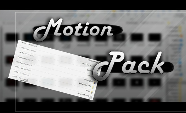ȻuzĪmƛzizx' Arts Motion Pack v1.0 (10$)