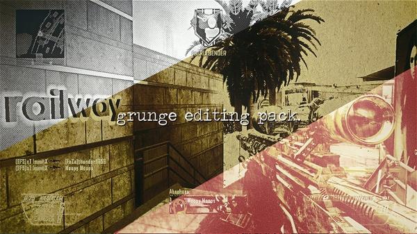 Grunge Editing Pack