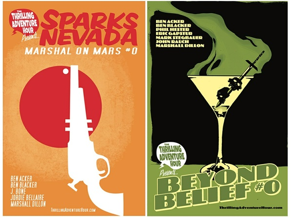 Sparks Nevada #0 AND Beyond Belief #0