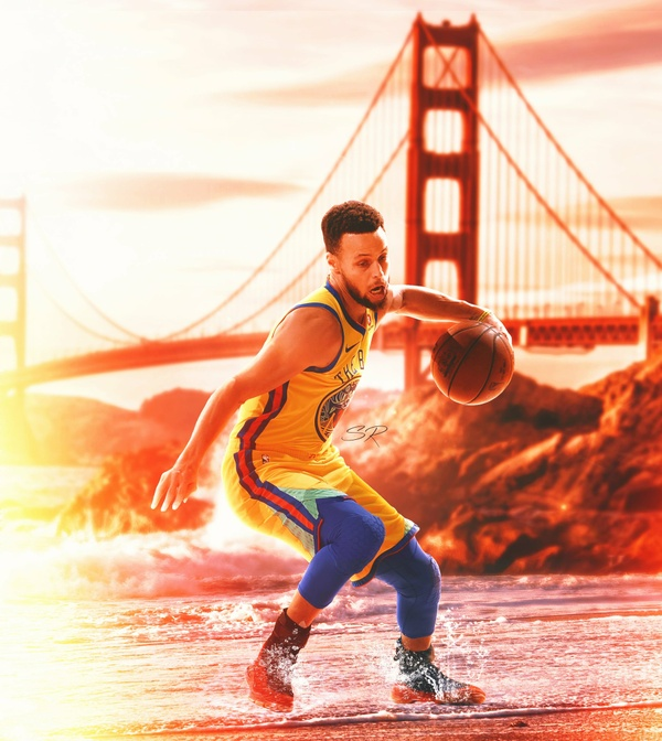 Steph Curry City PSD