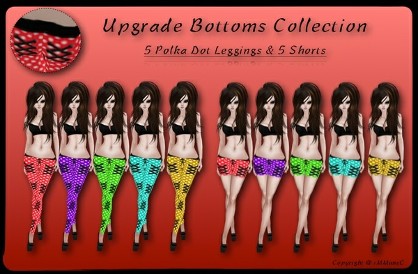 10 Polka Dot Upgrade Bottoms