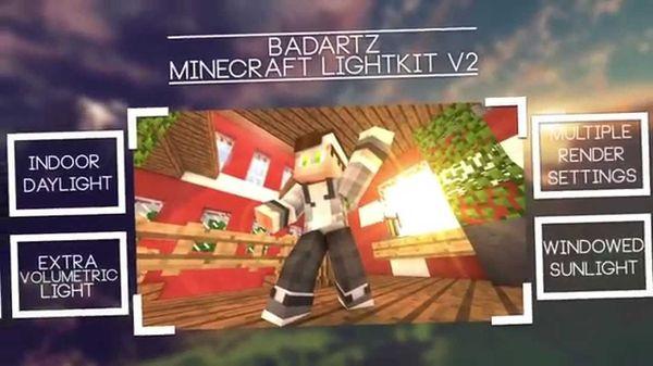 BadArtz Minecraft Lightkit V2 [Free]