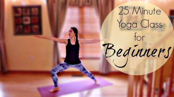 25 Minute Beginner's Yoga Class
