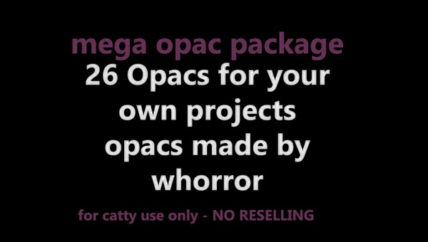2/5 SOLD - 26 Opacs package -