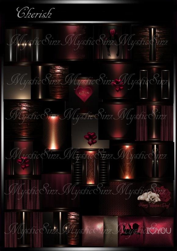 IMVU Cherish Room Collection